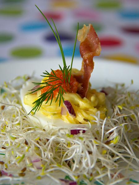 Fyllda agg(フィルダエッグ)ポスクの卵料理