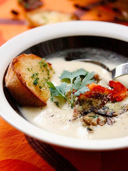 Svampsoppa(スヴァンプソッパ)きのこスープ