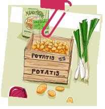 Potatis sallad