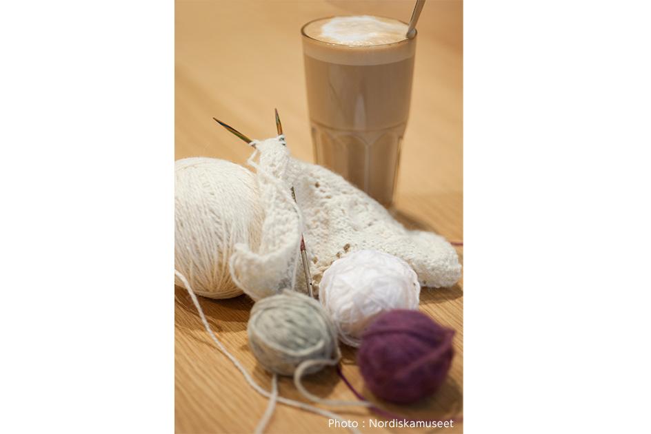 スウェーデンの羊毛と編み物